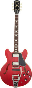 Musical Instruments:Electric Guitars, 2014 Gibson Rich Robinson ES-335 Cherry Semi-Hollow Body Electric Guitar, Serial #40718.. ...