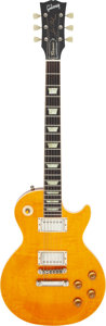 Musical Instruments:Electric Guitars, Circa 1997 Gibson Les Paul Classic Amber Solid Body Electric Guitar, Serial #7 2417.. ...