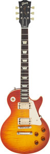 Musical Instruments:Electric Guitars, 2006 Gibson Les Paul R-9 Sunburst Solid Body Electric Guitar, Serial #9 6300.. ...