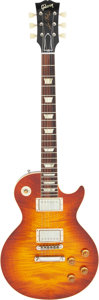 Musical Instruments:Electric Guitars, 2014 Gibson Les Paul R-9 Sunburst Solid Body Electric Guitar, Serial #942158.. ...
