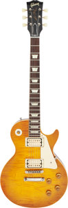 Musical Instruments:Electric Guitars, 2013 Gibson Les Paul Sunburst Solid Body Electric Guitar, Serial #931017.. ...