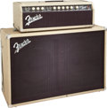 Musical Instruments:Amplifiers, PA, & Effects, 1963 Fender Bandmaster Blonde Guitar Amplifier, Serial #59123/L0474816.. ... (Total: 2 Items)