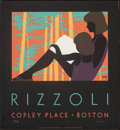 """Movie Posters:Miscellaneous, Rizzoli Copley Place Boston by Lance Hidy (1984). Rolled, Very Fine. Signed and Hand Numbered Limited Edition Print (26"""" X 2..."""