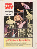 """Movie Posters:Rock and Roll, Let the Good Times Roll (Columbia, 1973). Rolled, Fine. Poster (30"""" X 40"""") Style B. Rock and Roll.. ..."""