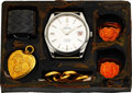 """Timepieces:Wristwatch, Rare and Complete US Navy """"Life Barter Kit"""" With Milus Snow Star Ref. M.40.81 Wristwatch, Circa 1960's. ..."""