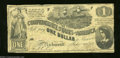 Confederate Notes:1862 Issues, T44 $1 1862. This is a First Series $1 that saw extensive ...