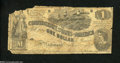 Confederate Notes:1862 Issues, T44 $1 1862. The upper left-hand corner of this commercial ...