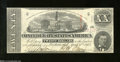 Confederate Notes:1863 Issues, T58 $20 1863. A faint fold reveals itself after intensive ...