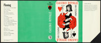 "Casino Royale (Jonathan Cape, 1963). Rolled, Very Fine. British Book Cover Proof (7.75"" X 18"") Pat Marriott Ar..."