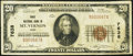 Mount Vernon, OH - $20 1929 Ty. 1 Knox National Bank Ch. # 7638 Very Fine