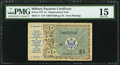 Military Payment Certificates:Series 472, Series 472 $1 First Printing Replacement PMG Choice Fine 15.. ...