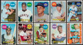 Baseball Cards:Sets, 1969 Topps Baseball Near Set (663/664). ...