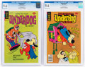 Bronze Age (1970-1979):Cartoon Character, Underdog #12 and 20 CGC-Graded File Copies Group (Gold Key, 1977-78) CGC NM+ 9.6.... (Total: 2 Comic Books)