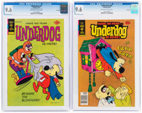 Underdog #12 and 20 CGC-Graded File Copies Group (Gold Key, 1977-78) CGC NM+ 9.6.... (Total: 2 Comic Books)