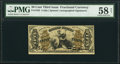 Fractional Currency:Third Issue, Fr. 1355 50¢ Third Issue Justice PMG Choice About Unc 58 Net.. ...