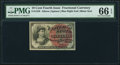 Fractional Currency:Fourth Issue, Fr. 1259 10¢ Fourth Issue PMG Gem Uncirculated 66 EPQ.. ...