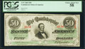 Confederate Notes:1863 Issues, T57 $50 1863 PF-8 Cr. 414 PCGS Choice About New 58.. ...