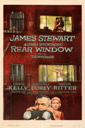 Movie Posters:Hitchcock, Rear Window (Paramount, 1954). Very Fine on Linen....