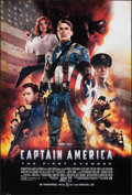 """Movie Posters:Action, Captain America: The First Avenger (Paramount, 2011). Rolled, Fine+. One Sheet (27"""" X 40"""") DS Advance. Action.. ..."""