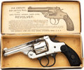 Handguns:Double Action Revolver, Boxed Iver Johnson Arms Double Action Revolver.. ...