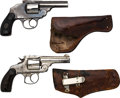 Handguns:Double Action Revolver, Lot of Two Express Company Top-Break Double Action Revolvers.. ...
