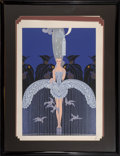 Prints & Multiples, Erté (Romain de Tirtoff) (Russian/French, 1892-1990). Her Secret Admirers and In the Evening ...