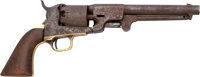 J.H. Dance & Bros. Confederate Percussion Single Action Revolver with History of Use by Horace G. Young, 5th Texas C...