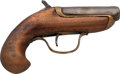 Handguns:Derringer, Palm, Williamson's Deringer Single Shot Pistol.. ...