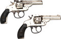 Handguns:Double Action Revolver, Lot of Two Top-Break Double Action Revolvers.. ... (Total: 2 Items)