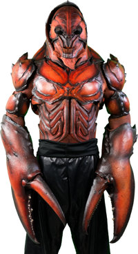 Lobstercules' Costume