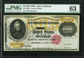 Large Size:Gold Certificates, Fr. 1225h $10,000 1900 Gold Certificate PMG Choice Uncirculated 63.. ...