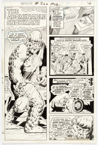 Curt Swan and Murphy Anderson Superman #266 Story Page 4 Original Art (DC, 1973)
