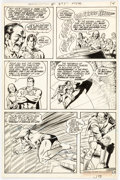 Original Comic Art:Panel Pages, Curt Swan and Murphy Anderson Action Comics #399 Story Page 12 Original Art (DC, 1971)....