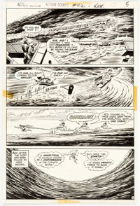Curt Swan and Murphy Anderson Action Comics #421 Story Page 5 Original Art (DC, 1973)