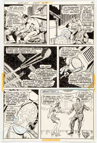 Curt Swan and Murphy Anderson Action Comics #419 Story Page 14 Original Art (DC, 1972)
