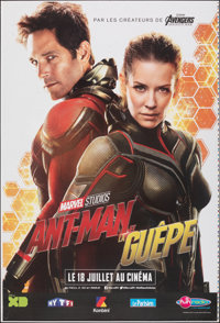 """Ant-Man and the Wasp (Walt Disney Studios, 2018). Rolled, Very Fine. Printer's Proof French Grande (46.75"""" X 69&quo..."""