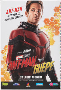 """Ant-Man and the Wasp (Walt Disney Studios, 2018). Rolled, Very Fine. Printer's Proof French Grandes (2) (46.75"""" X 6..."""