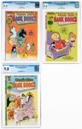 Bronze Age (1970-1979):Humor, Richie Rich Bank Books #31, 32, and 34 CGC-Graded Group (Harvey, 1977-78) CGC NM/MT 9.8 White pages.... (Total: 3 Comic Books)