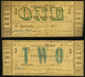 Obsoletes By State:Louisiana, St. Martinsville, LA- Parish of St. Martin $1; $2 Apr. 1, 1862 Fine.. ... (Total: 2 notes)