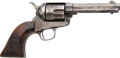 Handguns:Single Action Revolver, Colt Single Action Army Revolver with History on Train Robbery.. ...