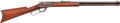 Long Guns:Lever Action, Marlin Model 1889 Leaver Action Rifle and Pocket Watch Inscribed To Texas Ranger J.R.H.. ...