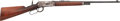 Long Guns:Lever Action, Winchester Model 55 Lever Action Rifle with History as Used and Belonging to Captain Frank Hamer.. ...