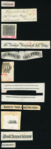 Collection of Various Proofs and Vignettes from Guatemala; Cuba; Peru Fine or Better. ... (Total: 32 notes)