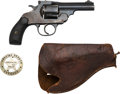 Handguns:Double Action Revolver, Smith & Wesson Secret Service Double Action Revolver with Holster and Badge.. ...