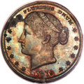 1879 $1 Metric Dollar, Judd-1623, Pollock-1819, R.7, PR63 Red and Brown PCGS. CAC....(PCGS# 72001)