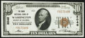 National Bank Notes:District of Columbia, Washington, DC - $10 1929 Ty. 1 The Riggs National Bank Ch. # 5046 Choice About Uncirculated.. ...