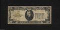 Small Size:Gold Certificates, Fr. 2402 $20 1928 Gold Certificate. Very Good-Fine.