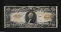 Large Size:Gold Certificates, Fr. 1187 $20 1922 Gold Certificate Very Fine. Even wear, ...
