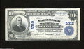 National Bank Notes:Kentucky, Louisville, KY - $10 1902 Plain Back Fr. 633 The NB Ch....