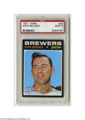 Baseball Cards:Singles (1970-Now), 1971 TOPPS DAVE BALDWIN #48 Mint PSA 9. From one of the ...
